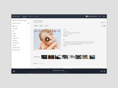 Pandora Redesign