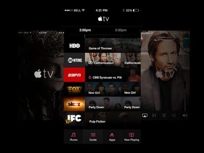 Apple TV Guide for iOS