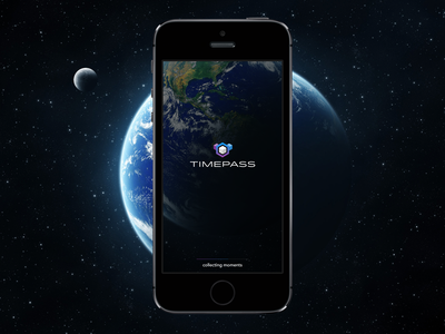 Timepass: A Time Travel Concept ui ux idlewild logo avenir timeline weather app timetravel scott bakula