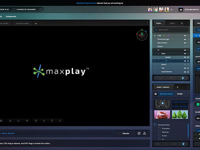 Explorations development game editor open sans exo design direction case study