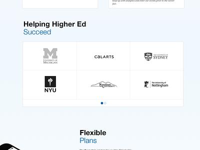 Career Fair+ Design Direction employee employers business career university education clean helvetica ui marketing