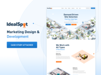 Idealspot Marketing Website Case Study