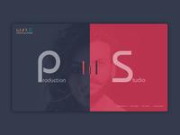 Home Page Design, Web Design, Creative, Studio Design, Portfolio