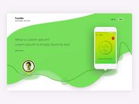 Train Me, workout app web site design