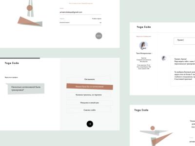 YogaCode web concept