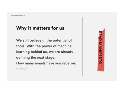 Manifesto page