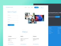 SmartFrame contact page