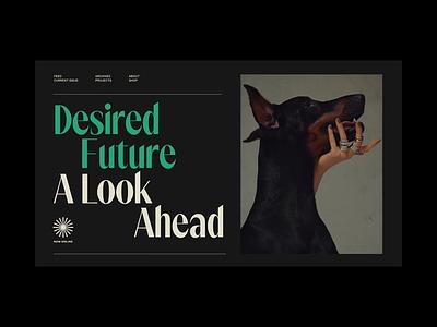 Kaleidoscope Magazine Styletiles typography branding magazine web website styletile concept exploration art direction ui