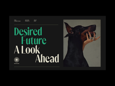 Kaleidoscope Magazine Styletiles typography branding magazine web website styletile concept exploration art direction ui
