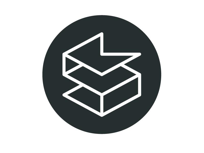 SK-2 s k mark logo lettermark