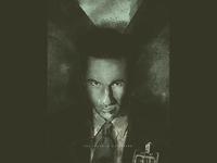 Fox Mulder mulder duchovny illustration xfiles
