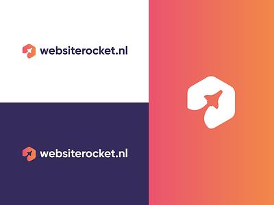 Logodesign for Websiterocket logo identity branding brand design brand and identity design