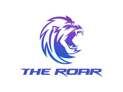 The Roar albania jetmir lubonna roar logo 2d animal logo animal beast logo beast creative design creative logo design logo