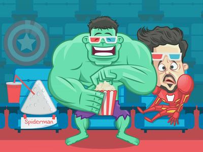 Avengers Endgame albania jetmir lubonja cinema thanos creative design creative funny comic design illustration captain america marvelcomics comics avengers spiderman hulk iron man