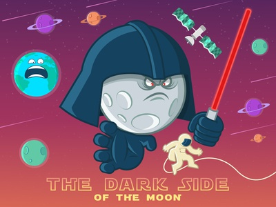 Star Wars: The dark side of the moon