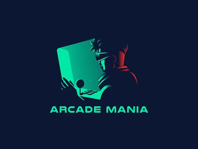Arcade Mania logo game dribbble vector creative design illustration creative design albania jetmir lubonja