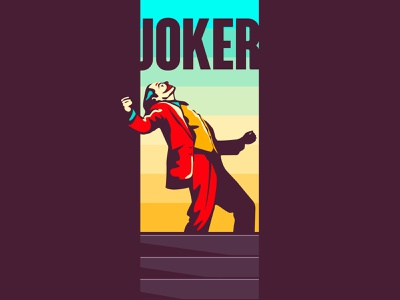 joker cinema hollywood logo illustrator gotham city joaquin phoenix creative design creative albania joker