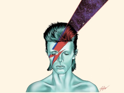 Space Oddity procreate diamonddogs spaceart outerspace bowie davidbowie