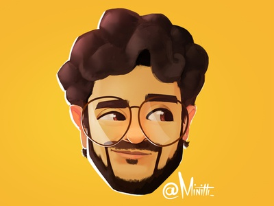 Caricature 1 cute concept design character cartoon illustration