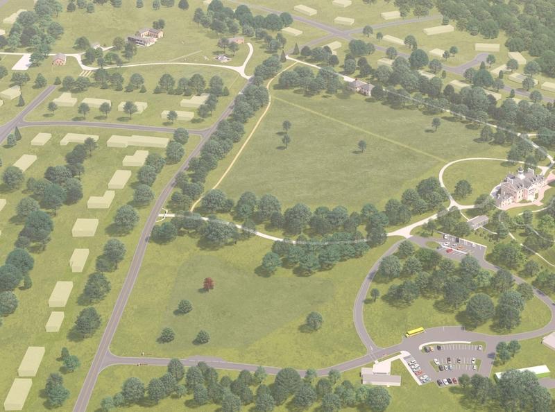 Hampton National Historic Site 3D Park Map