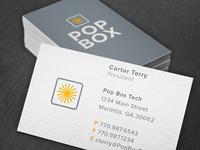 Pop Box Identity