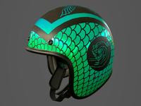 Motorcycle helmet 002