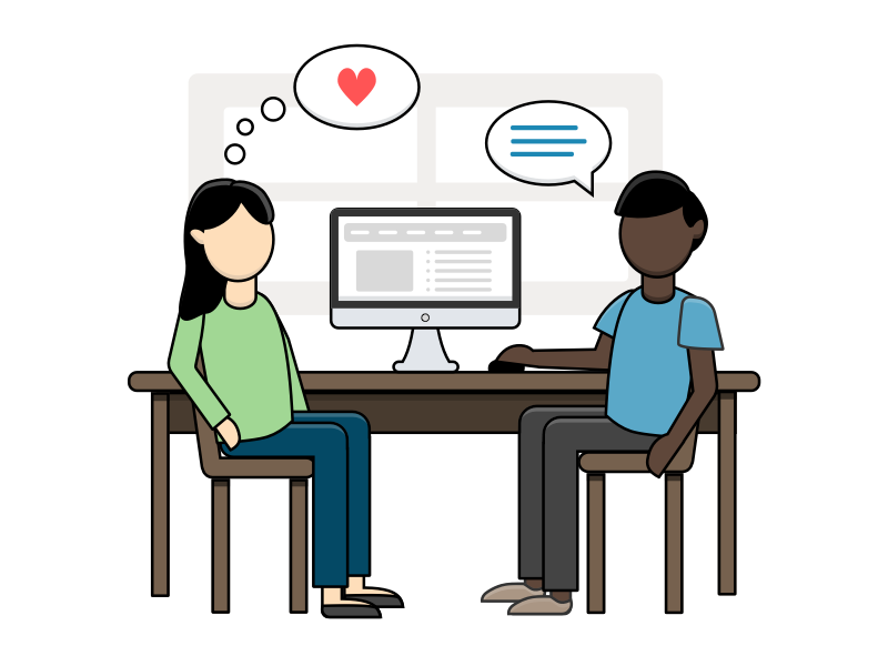 User research is the key to empathy dribbbleshot