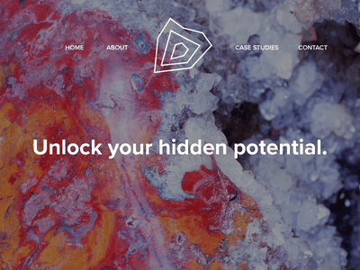 Geode Website Mockup visual identity visual design tagline website ui design branding concept logo