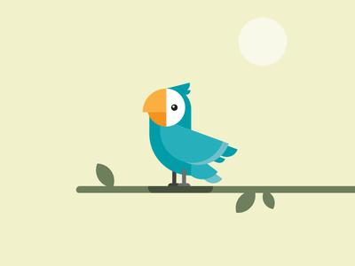 Lui the parrot