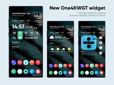 One4KWGT Pro widget