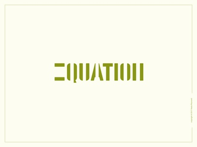 Equation Logotype