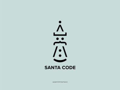 Santa Code Logo
