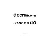 (De)Crescendo Logotype