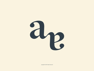 AA Monogram aa graphic design minimal lettering vector simple smart design type flat reflective symmetry logo monogram