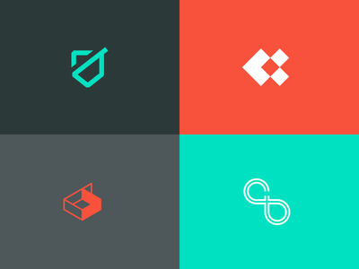 Initial Logomark Concept Exploration - CB ideas brand logo monogram initials cb