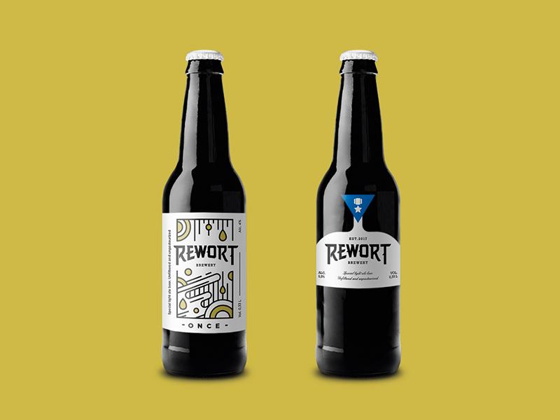 Rewart beer branding beer label packaging labeldesign package design package graphic design design logo wearepixies identity illustration pixies
