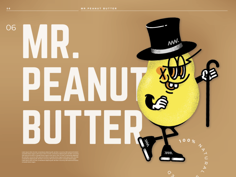 Character a day: Mr. Peanut Butter
