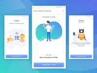 Programming Hub - Success Screen UI & Illustration