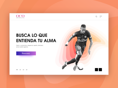 Oco Events Landing Page