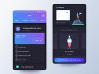 Post Course Enroll Mobile UI - Programming Hub
