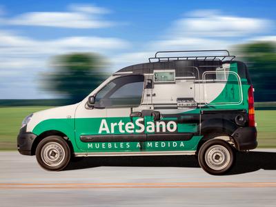 Artesano Car Wrap