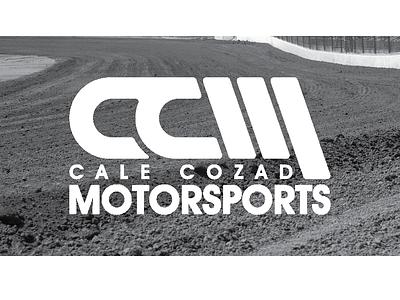 Cale Cozad Motorsports Logo branding design logo