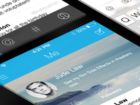 Twitter iOS7 Concept - All Screens