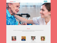 avenuecare - landing page