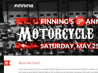 Motorcycle ride website