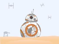 BB8 Illustration