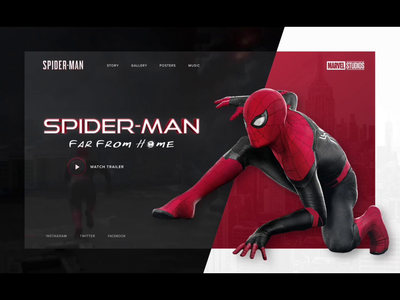 Marvel Spider-Man animate concept