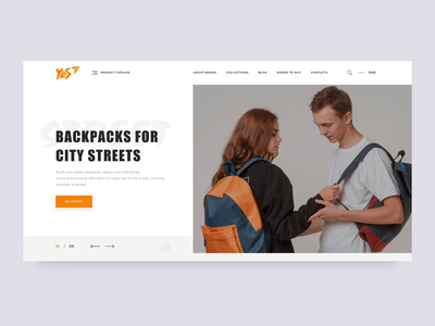 YES Backpacks Web Catalogue