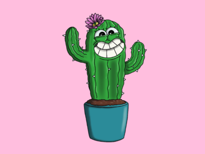Who's a pretty cactus?