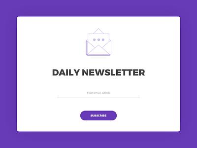 Subscribe (Daily UI #026) 026 dailyui subscribe design graphic design photoshop ui ui design user interface user interface design web web design